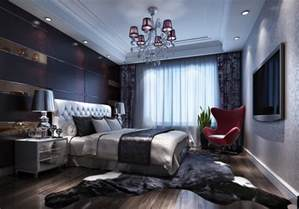 Luxury Bedroom Interior Design Modern Luxury Bedroom Decoration Backdrop Renderings