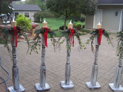 ideas for decorating iron fence posts for christmas l post decorating walkways outdoor and