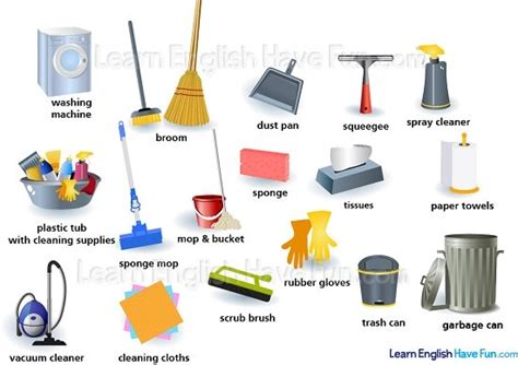5 Uses For Supplies by Cleaning Supplies Vocabulary
