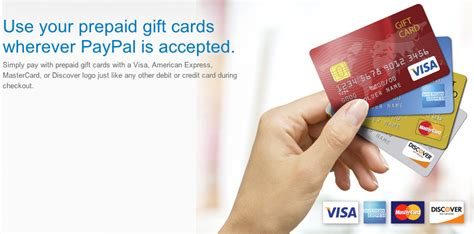 Prepaid Gift Cards - paypal checkout allows the use of prepaid gift cards