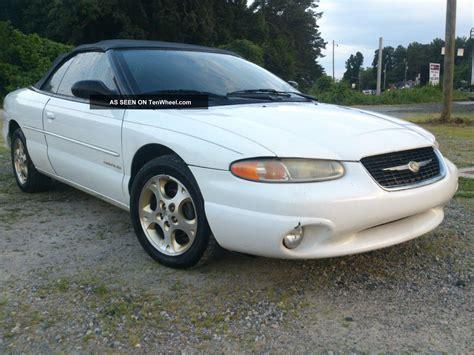 1999 Chrysler Sebring by 1999 Chrysler Sebring Jxi Convertable