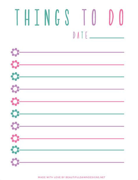 printable list of free things to do in las vegas free to do list printable beautiful dawn designs