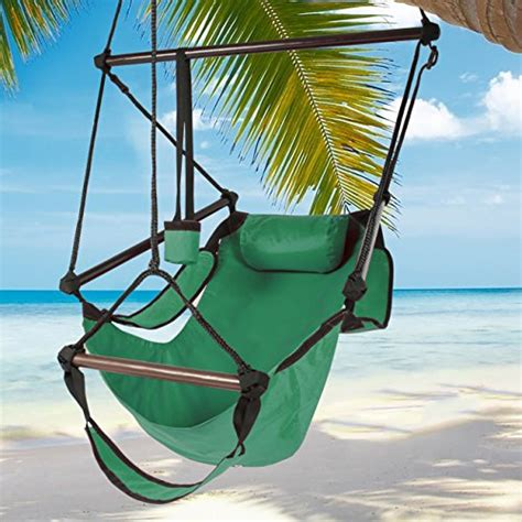 best choice products 174 hammock hanging chair air deluxe sky