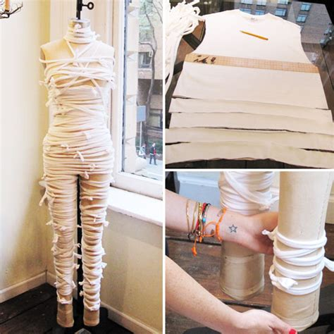 how to make a costume how to make an easy mummy costume popsugar fashion