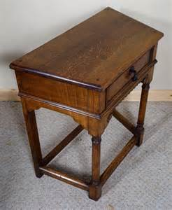 tiny side table antiques atlas small oak side table with drawer