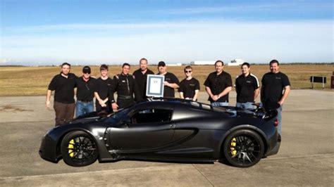 Koenigsegg Venom Gt Hennessey Venom Gt Slog Koenigsegg Till 300 Km H Satte