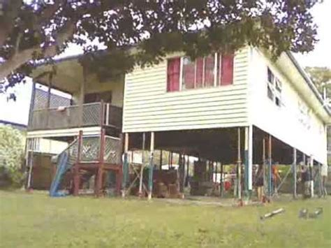 raising a house raising a house in queensland australia time lapse youtube