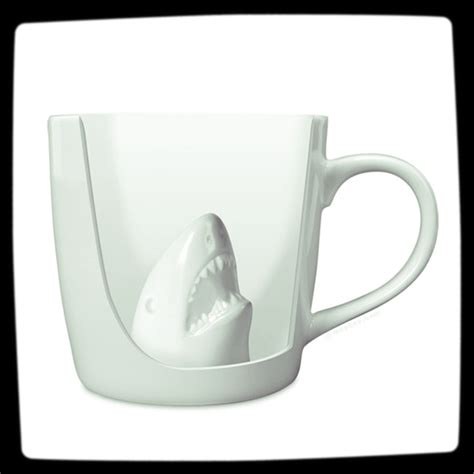 coolest coffe mugs hidden shark cool coffee mug best coffee mugs