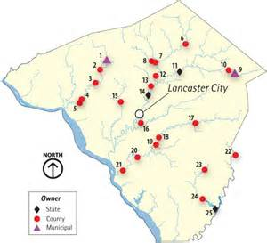 lancaster covered bridges map vacation