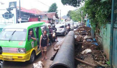 Pipa Besi Di Bogor Media Bogor Galian Pipa Pdam Berita Informatif Terkini