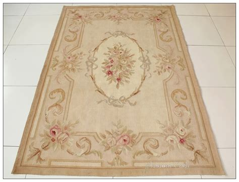 aubusson rugs 4x6 aubusson area rug antique pastel wool handmade flat weave carpet ebay