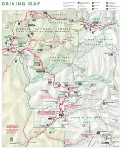 sequoia california map maps npmaps just free maps period
