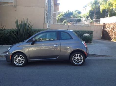 Used Fiat 500 Los Angeles Sell Used 2012 Fiat 500 2d Hatchback Pop 12000