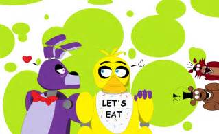 Fnaf foxy fanfiction bonnie x chica fnaf yuri by