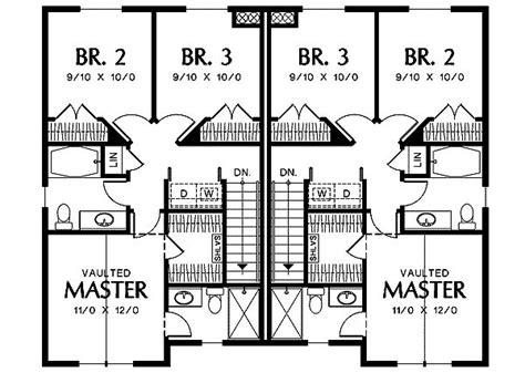 flexible two family house plan 21244dr 1st floor dual family house plans house plan 2017