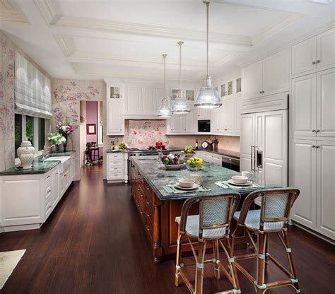 steel kitchen island royal forge inc private residence in british colonial style traditional