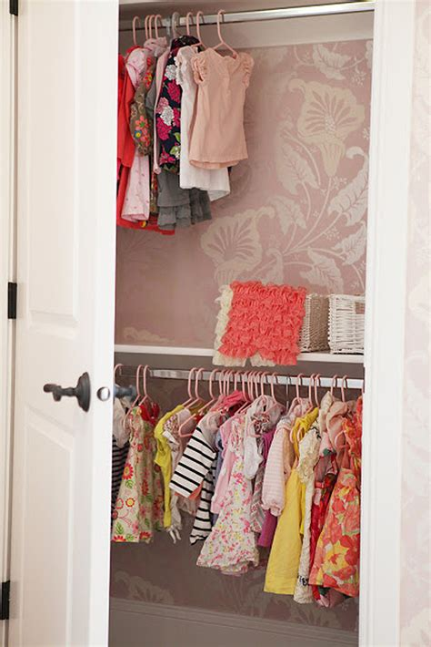 wallpaper closet wallpaper in surprising spaces project nursery