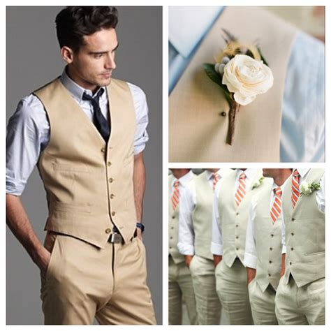 mens casual dress for wedding no formal style attire for modern and groom