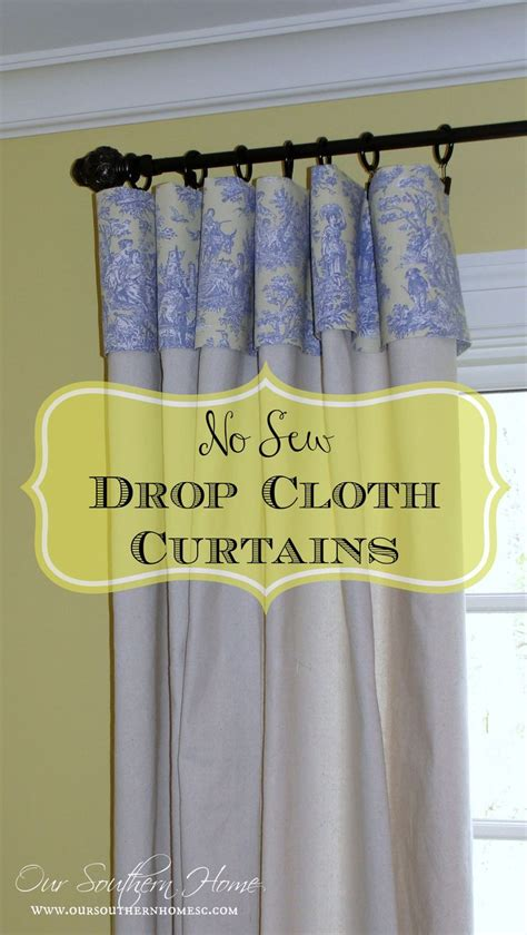 drop cloth curtain ideas 84 best all things drop cloth projects images on pinterest