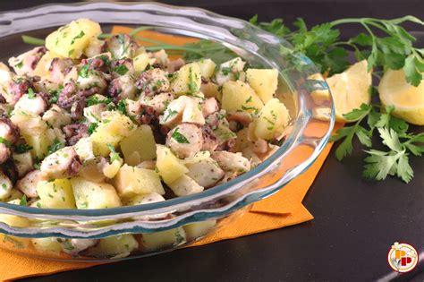 insalata di polpo patate e sedano insalata di polpo e patate polenta piccante