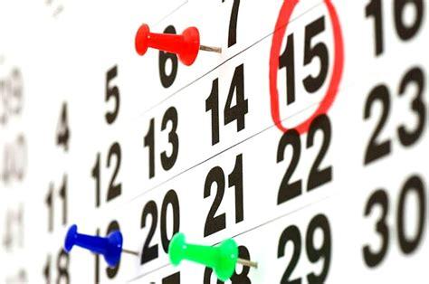 fechas para devolucion de percepciones el tiempo en semana santa 2017