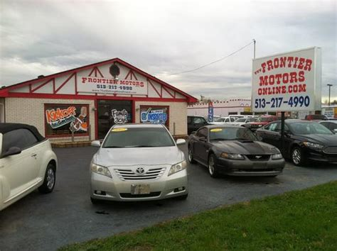 frontier motors inventory car dealership ratings and reviews frontier motors oh