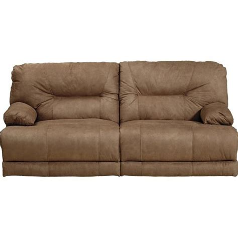 catnapper noble power lay flat reclining fabric sofa in