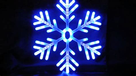 blue and white led snowflake lights led lights shooting snowflake 60cm blue and