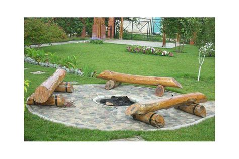 diy pit seating fireplace design ideas