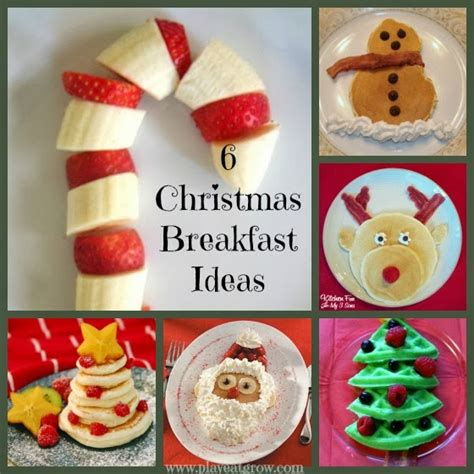 6 fun christmas breakfast ideas play eat grow