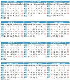 Calendario 2018 Mexico Dias Festivos Calendario Laboral Calendario 2017