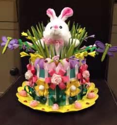 Handmade Easter Hats - handmade easter bonnet hat bunny garden