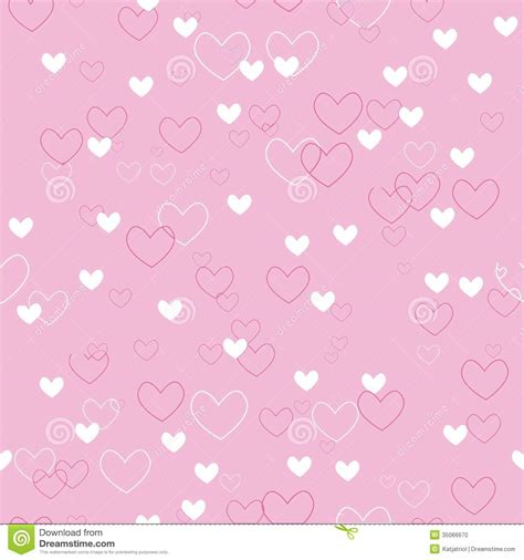 heart pattern pink seamless vector pattern pink with hearts stock photo