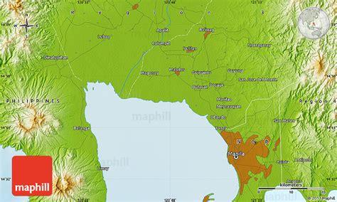san jose monte map physical map of san jose monte