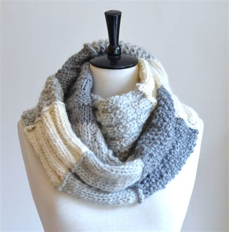 how to knit an infinity scarf for beginners knitting pattern infinity scarf sler infinity scarf