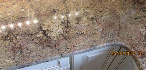 granite kitchen countertop island   top radius edge crafted countertops wisconsin