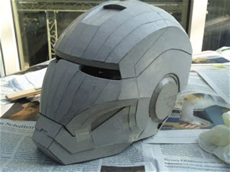 How To Make Ironman Helmet Out Of Paper - an iron helmet and armor how to make iron