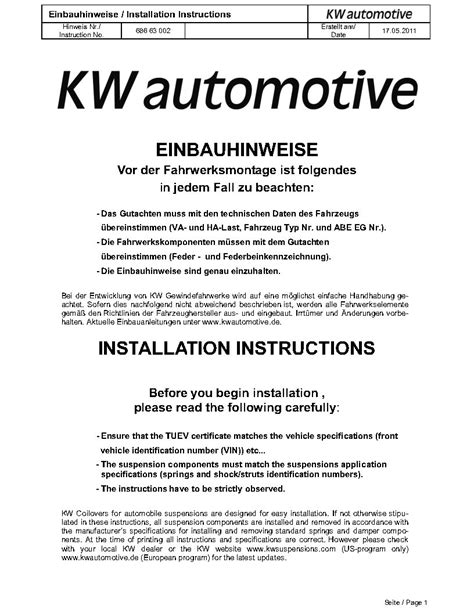 KW install thread | Cadillac CTS-V Forum