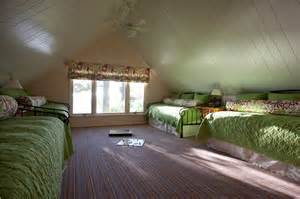 Space Saving Ideas For Small Bedrooms children s bunk room making the most of attic rooms