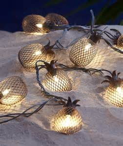 pineapple outdoor lights garden oasis 10ct pineapple light string shop your way