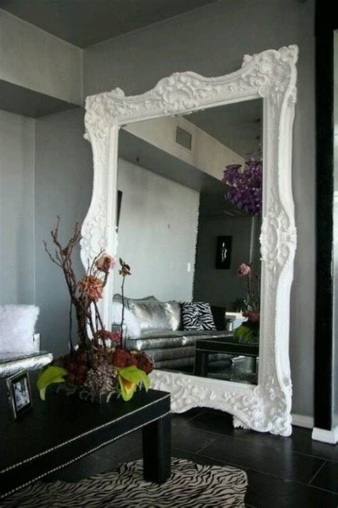 classic and large wall mirrors for living