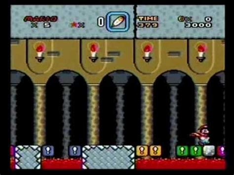 Super Mario World Snes Walkthrough Part 59 Front Door Front Door Mario World