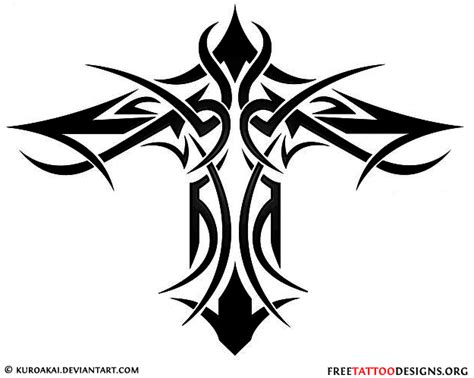 tribal crosses tattoos 50 cross tattoos designs of holy christian