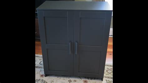 ikea black cabinet doors ikea brimnes cabinet with doors assembly