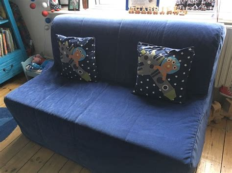 Mattress Cover For Sofa Bed Ikea Lycksele Lovas Sofa Bed With New Blue Cord Cover In Hove East Sussex Gumtree