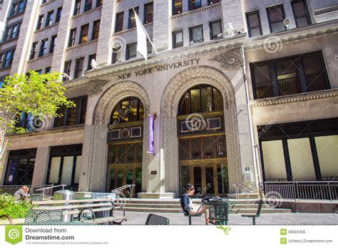 Mba Schools In Nyc by Nyu Editorial Photo Image 36922426