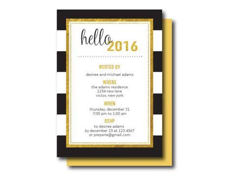 new year open house menu 33 best event theme holidays black metallic