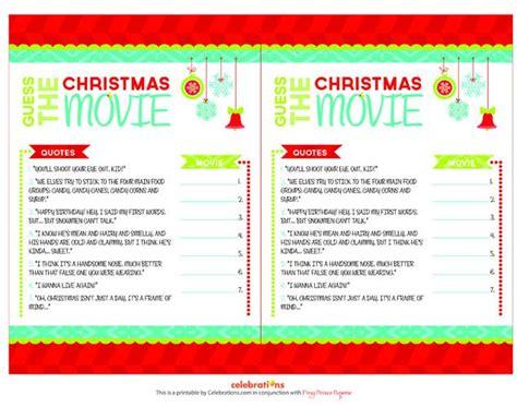 printable christmas trivia games