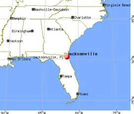 map jacksonville florida area