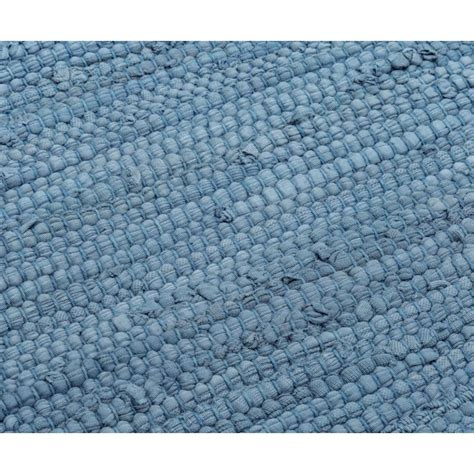blue cotton rug cotton rug eternity blue rug solid